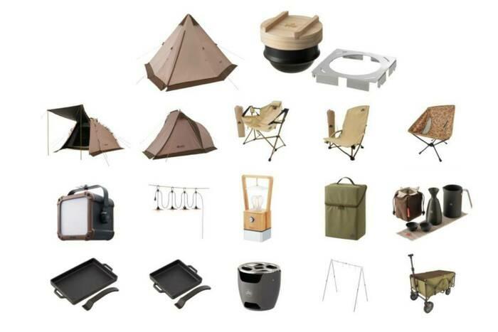 ヒット必至のティピー型テントを先取り!?ロゴスが2021年春夏のアイテムを先行発売