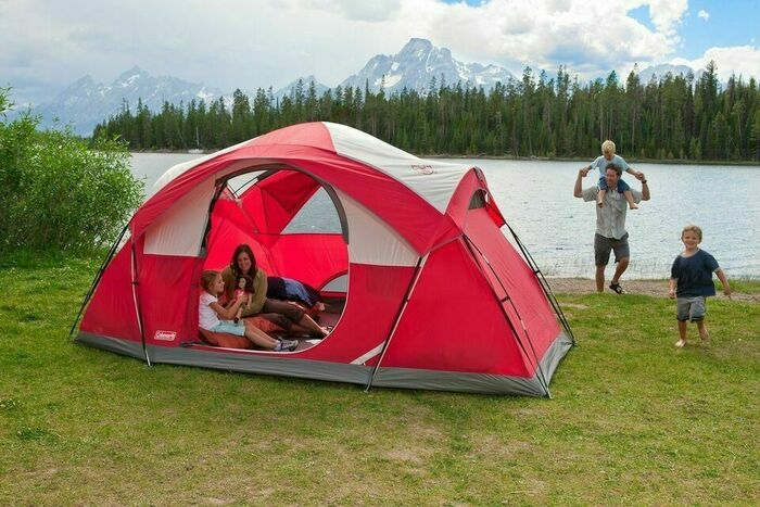 Camping Dome Tent 8-Person Outdoor Hiking All Season Sleeping Gear Shelter Shade