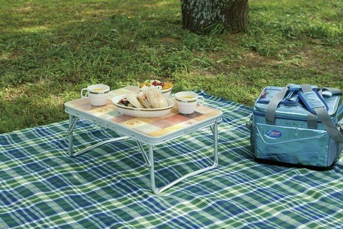 コールマンのモザイクミニテーブル
