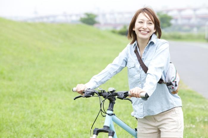 クロスバイク 女性
