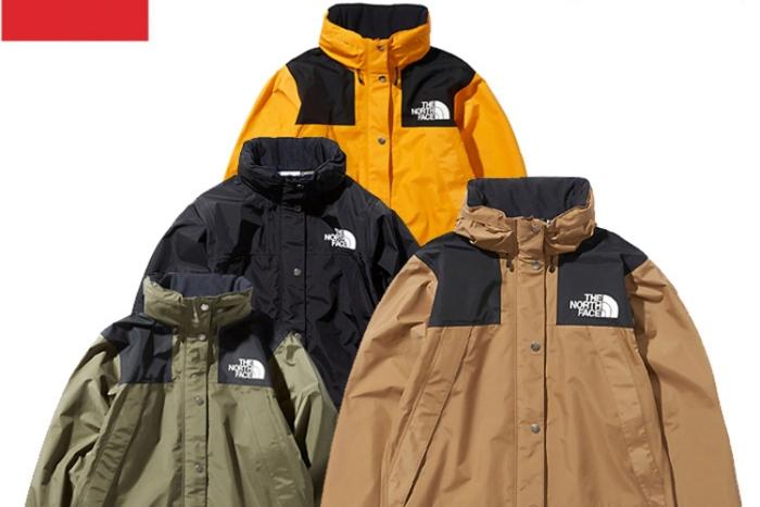 ザ・ノース・フェイスのゴアテックスジャケットの画像