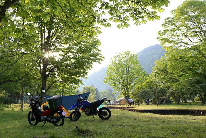 栃木のオートキャンプ場の画像