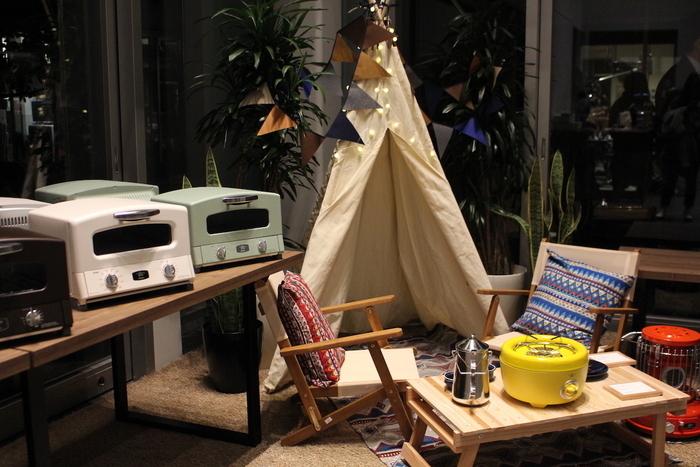 【アラジン展示会】新作続々!今年の冬キャンプは暖かく、かわいいく。
