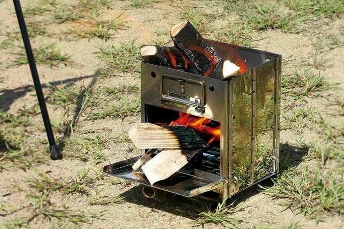 火起こし、調理、BBQまで対応する焚き火台。アウトドアマンからユーザー目線の万能新作