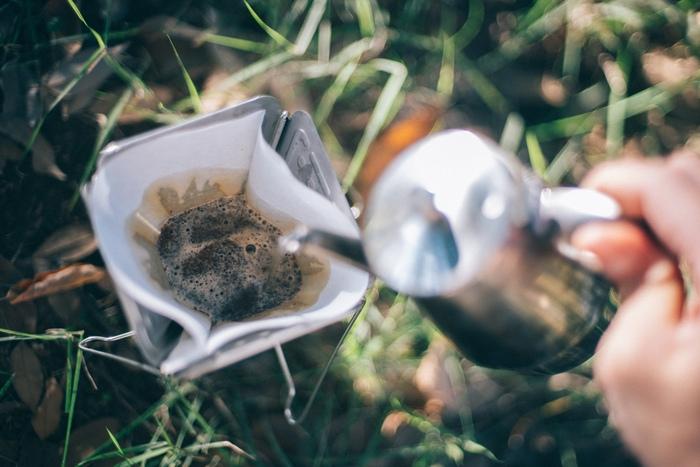 【飲んでみた】外でも手軽に飲める!「キャンプのためのコーヒー COFFEE for CAMP」
