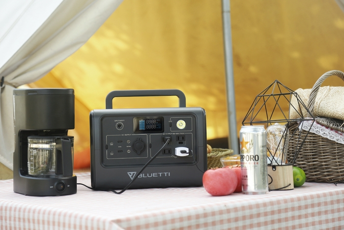 キャンプサイトに溶け込む高機能ポータブル電源!BLUETTIの新作が最大40%オフで登場!