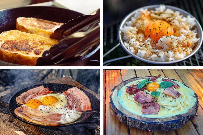 【ひなたごはん】キャンプ飯の定番たまご料理。シンプルでも奥が深いみんなのレシピを紹介!
