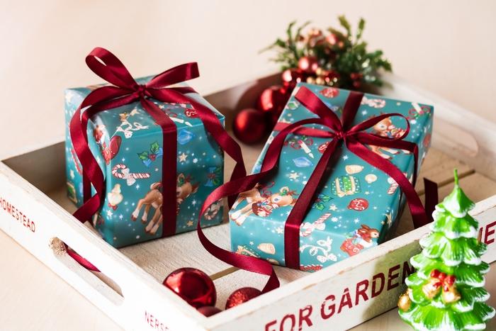 クリスマスプレゼントのギフト