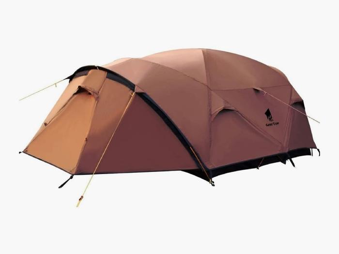 ファミリー用のテント