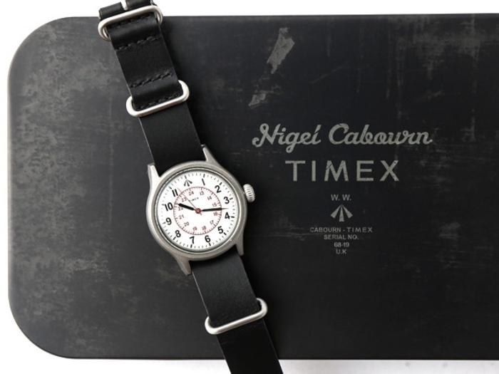 ナイジェル・ケーボンとタイメックスのコラボ時計