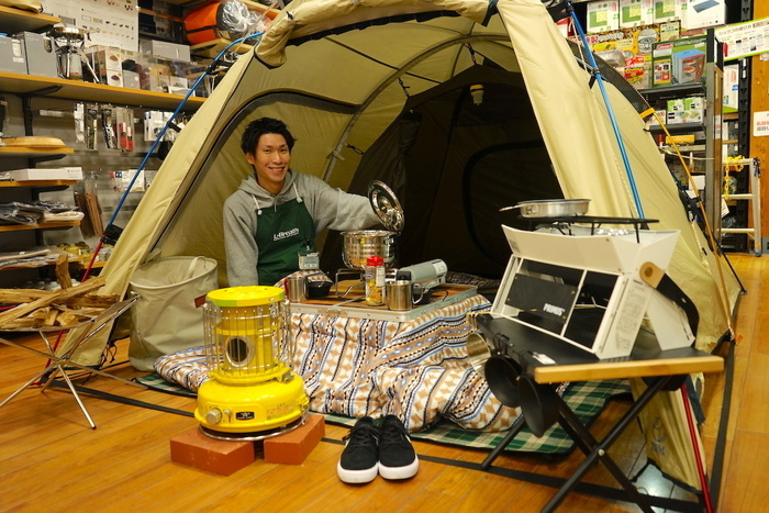 親子で冬キャンプ!ひみつ道具はお手製こたつ【プロ店長のみっちりキャンプ講座】