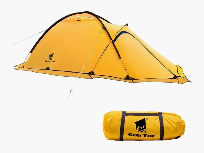 登山用のテント