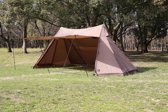 ナチュラムのテント