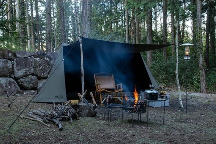 イエローのグローブでおなじみ「グリップスワニー」から待望のテント&タープが登場!
