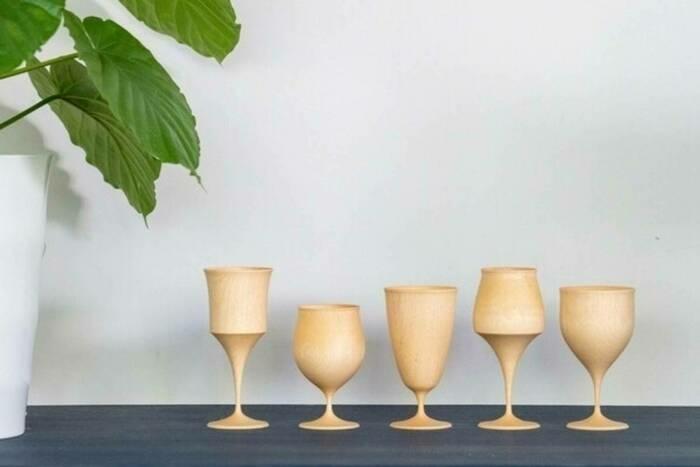 同じお酒で5つの風味を楽しめる!キャンプのテーブルを飾るなら「TOHKA 酒杯」