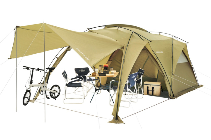 ついにツールームテントを初投入。モンベルがキャンプギアで本気になった!?