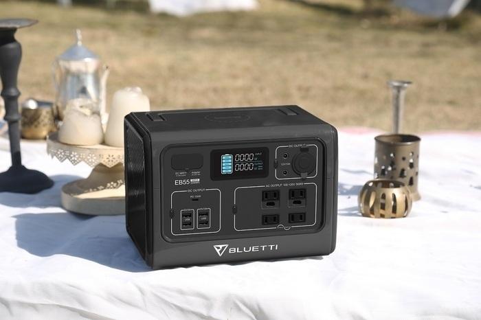 【特別価格】コンパクト&シンプルなポータブル電源BLUETTI(ブルーティ)EB55が登場