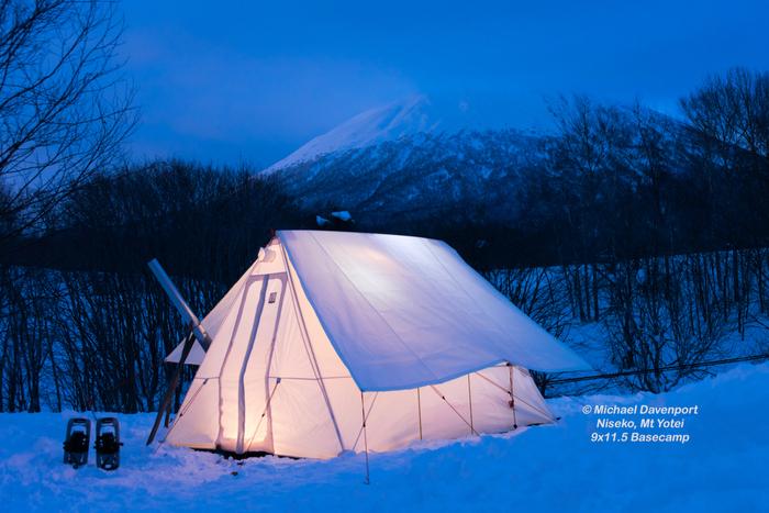 米国生まれのテント「スノートレッカー」が日本初上陸!冬キャンプ向きな高機能テントの実力とは?