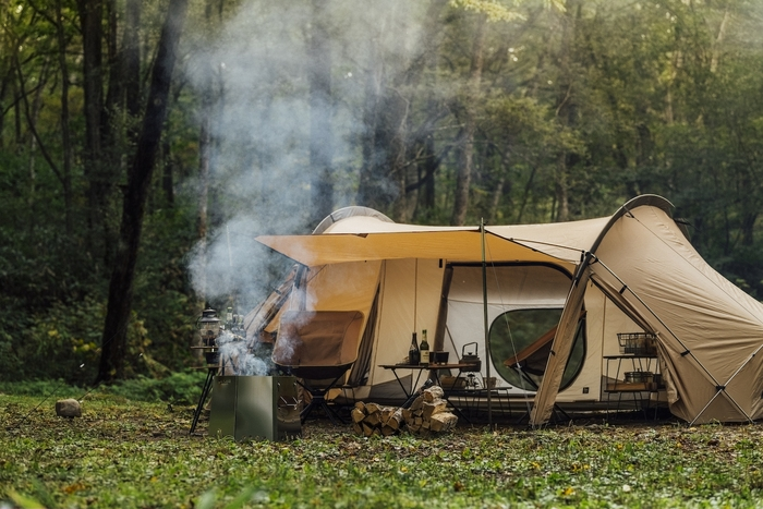 ソロ・デュオ向けの最注目テント「オキトマ2」の全貌が明らかに。ゼインアーツが傑作ゼクーの大型化も!