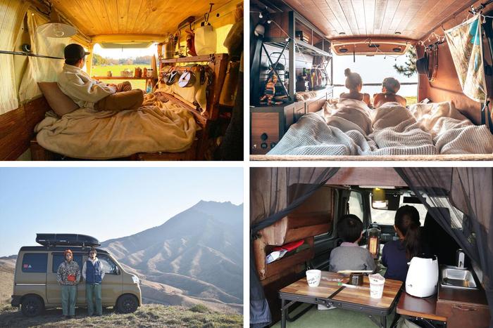 春から始めてみたいバンライフ。Instagramで注目のバンライファーにキャンプとの相性を取材!