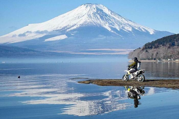 富士山とツーリング