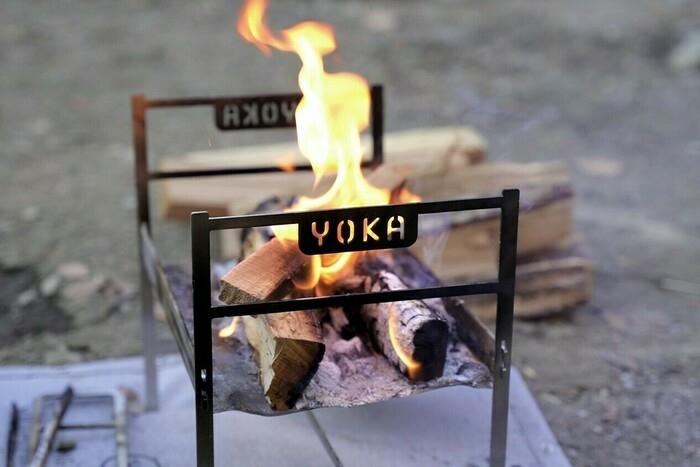 YOKAが待望の軽量コンパクト焚き火台「COOKING FIRE PIT LIGHT」をリリース!【完売必至】