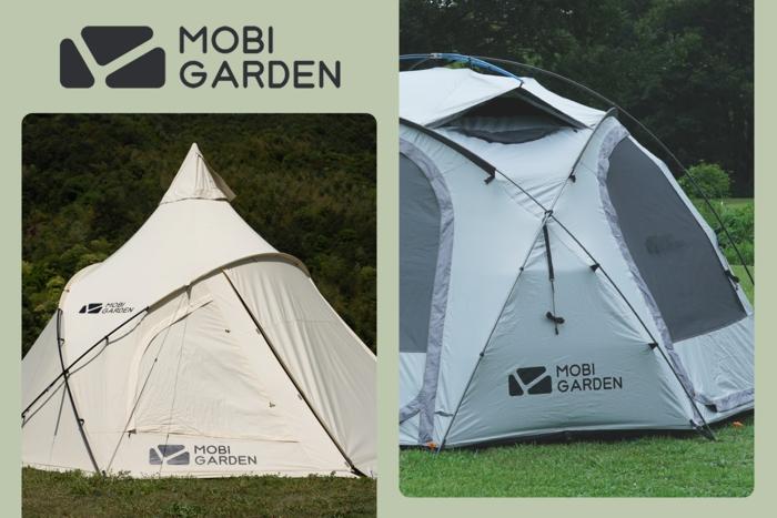 モビガーデンが生んだテントの新標準。先進ワンポール「ERA 290」と機能的ドーム「ロイヤルキャッスル」が常識をアップデート!