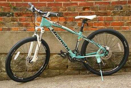 ビアンキの自転車