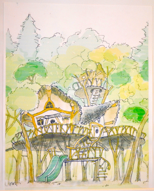 ツリーハウス・トントゥのデザイン