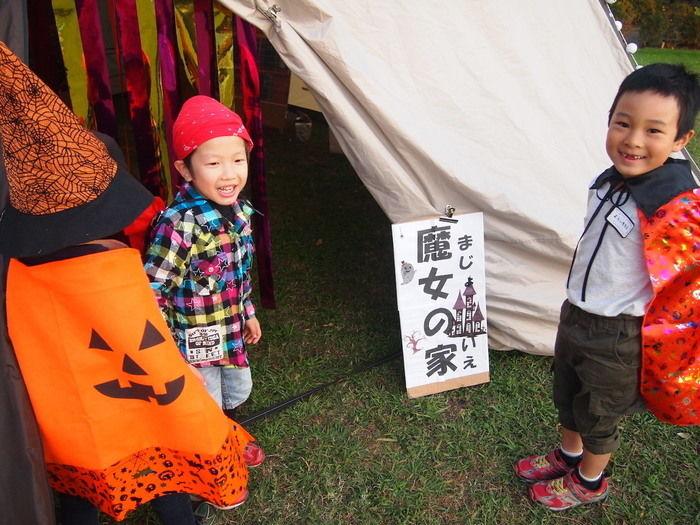 Campeena 主催イベント Happy Halloween campに集まった子供