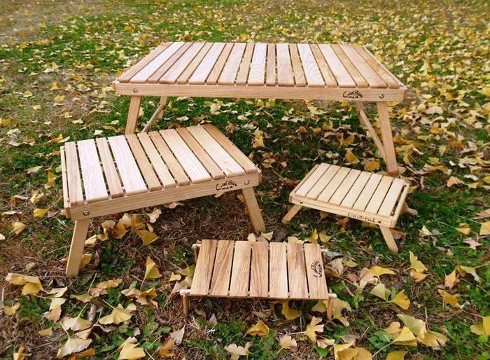 シエルブルーの木工キャンプギア