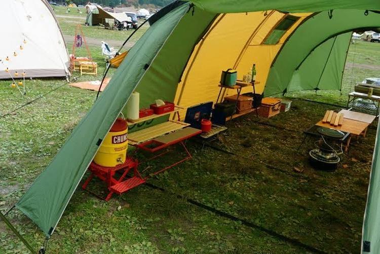 春キャンプは春カラーで楽しもう!ということで、グリーンテントを集めてみました