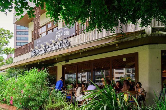 URBAN BBQ Cafeの店舗の外観