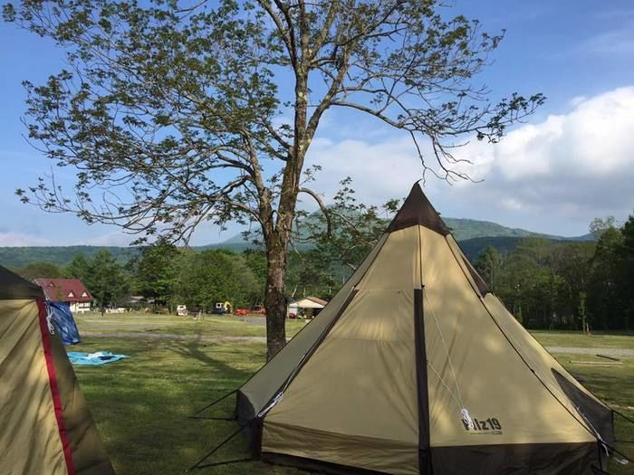 ogawaのピルツと広大なキャンプ場
