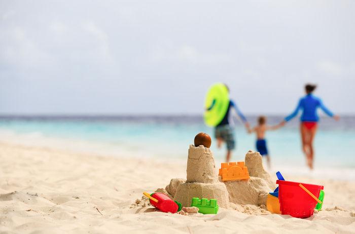 海辺の砂浜
