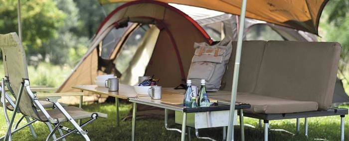 キャンプの様子