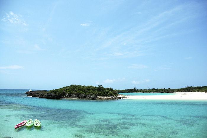 伊良部島渡口の浜の美しい海