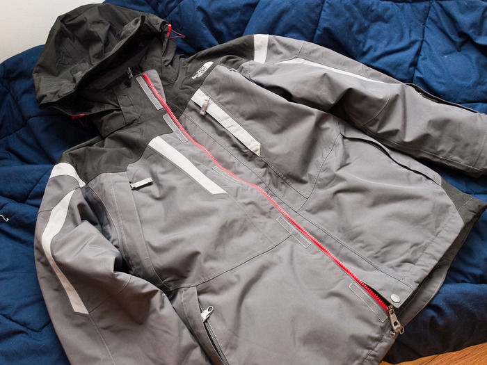 ノースフェイスのゴアテックスのジャケット
