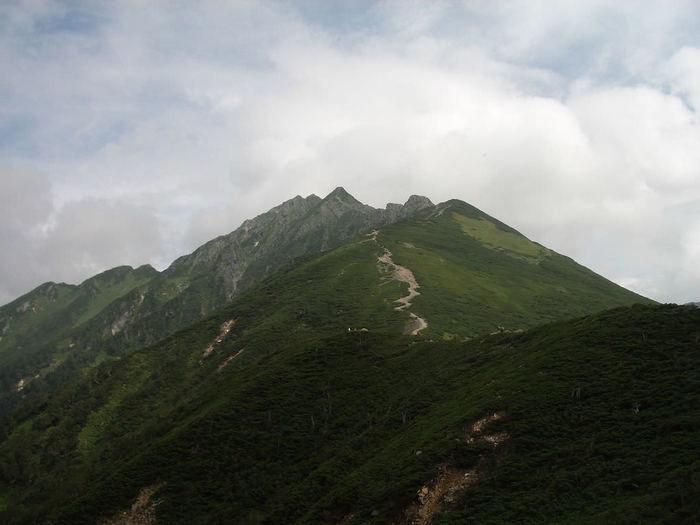 西穂高岳の写真
