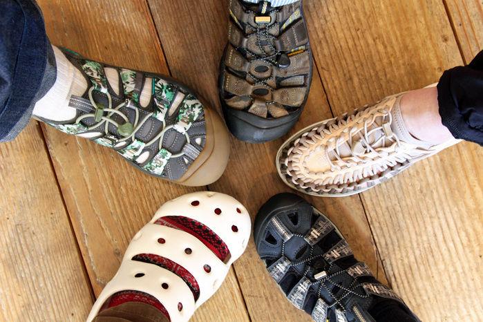 KEENの靴