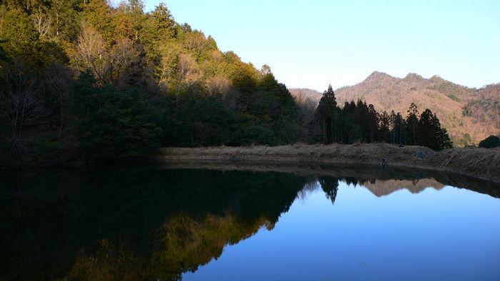 浅間・八ヶ岳パノラマトレイルから見える池