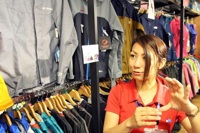 エルブレス町田店の店員、佐野さん