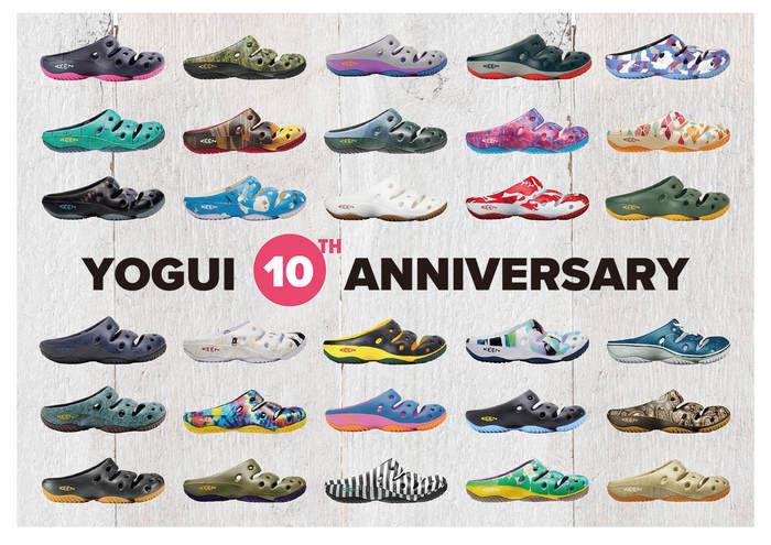 YOGUI10周年記念の広告