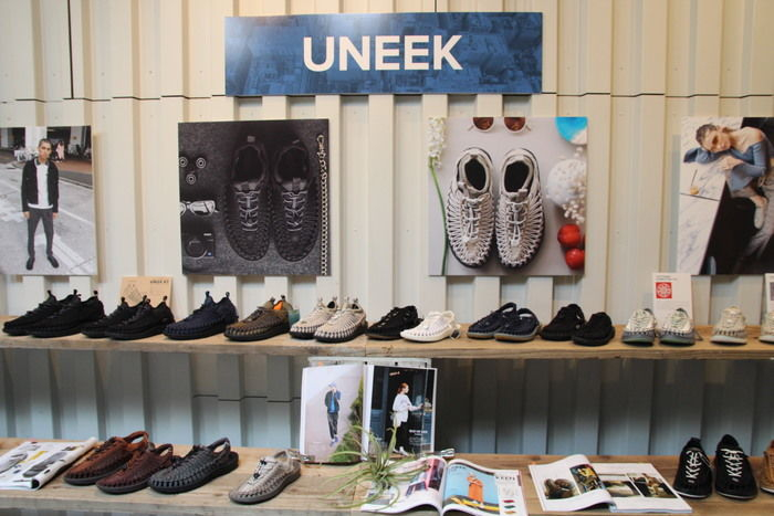 UNEEKの展示会の様子