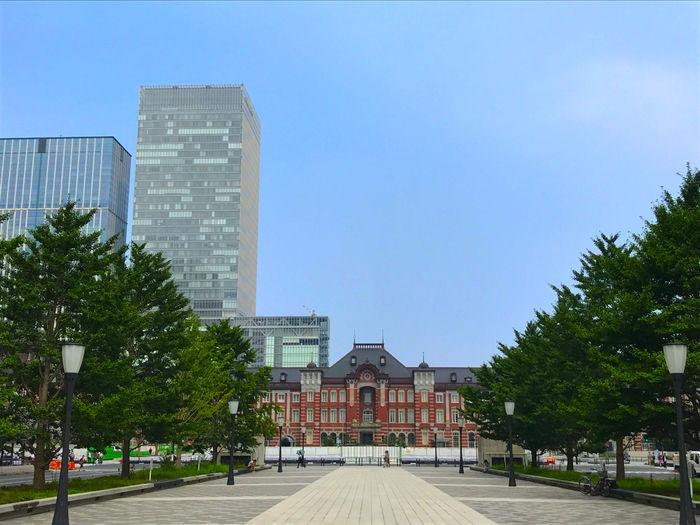 東京マラソンのゴールの皇居の「和田倉門」