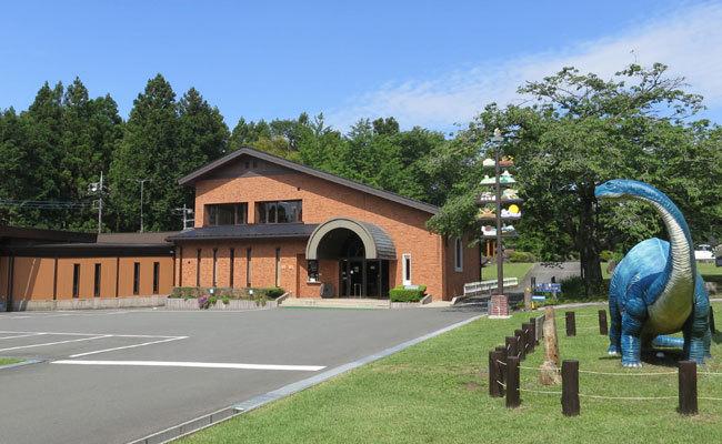 奇石博物館の外観