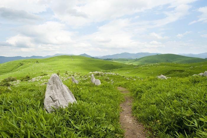 山口県の山々の風景
