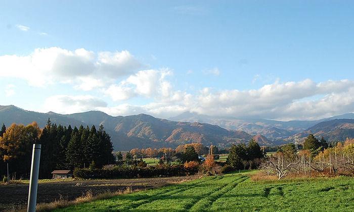 皇海山キャンプフォレストからの雄大な景色