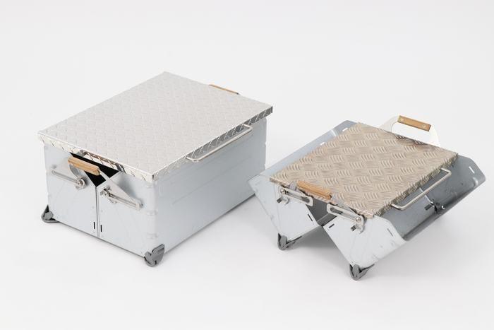 シェルフコンテナ用縞板鉄板 ver2.0