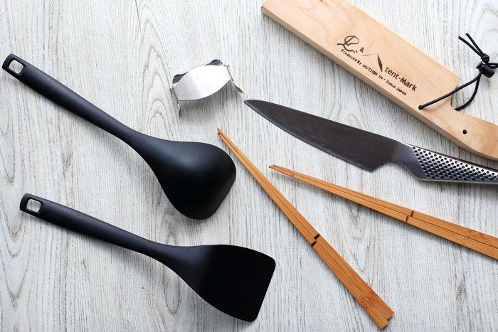 ナイフやへら等のキッチンツール